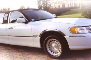 Location limousine Mulhouse Lincoln Town Car 2