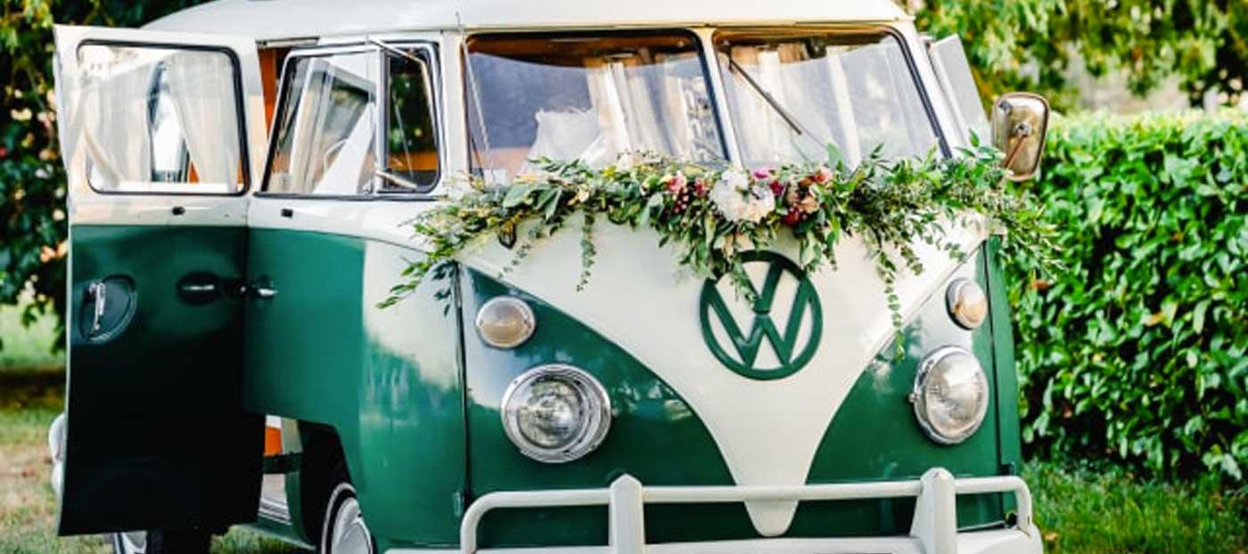 Location véhicule atypique mariage