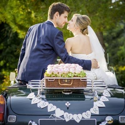 Location de voiture de mariage