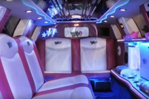 Location limousine Lincoln Town Car Rose Neufchâteau