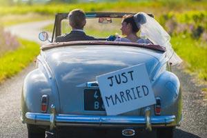 Véhicules de mariage