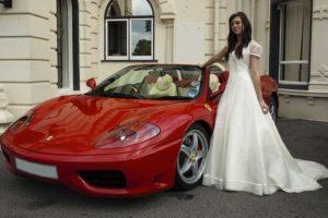 Location Ferrari mariage Cannes
